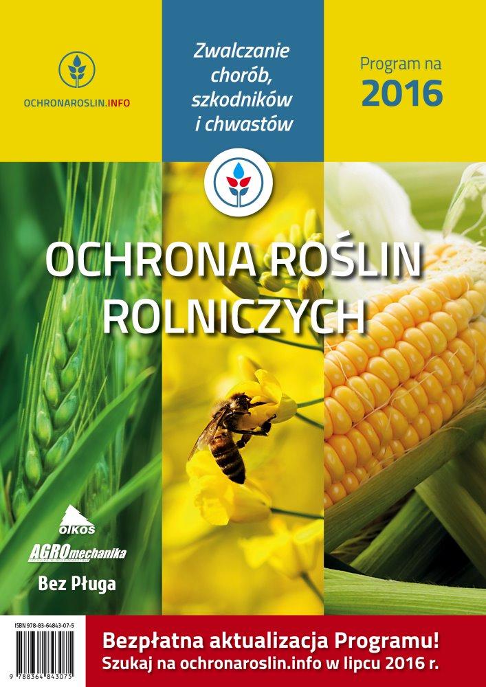 Ochrona roślin rolniczych 2016